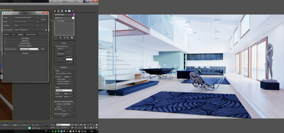 pics NVIDIA Iray+ for 3ds Max