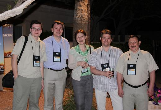 Russian delegation at COFES-2011