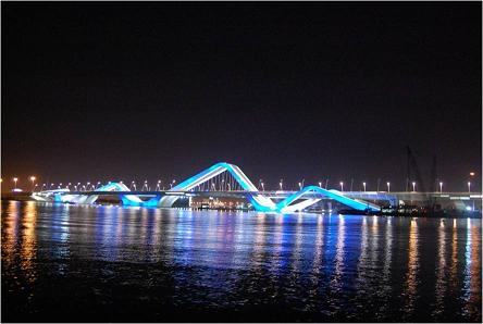 Sheikh Zayed Bridge (Abu Dabhi, UAE)