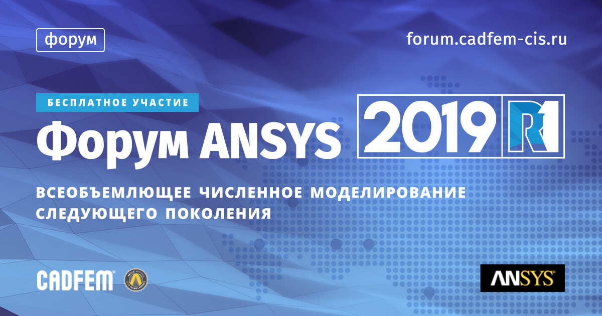 Форум ANSYS 2019