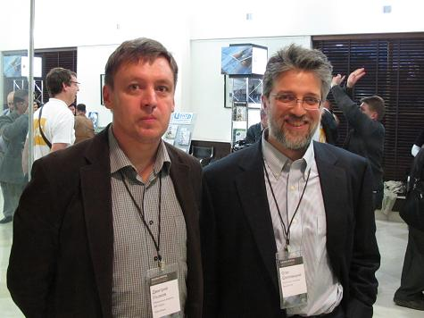 Dmitry Ushakov and Oleg Shilovitsky
