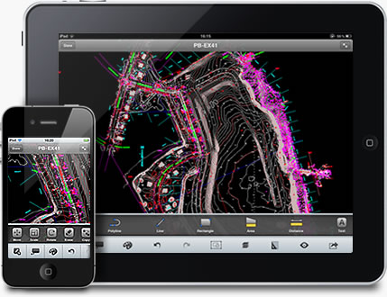 AutoCAD WS for iPhone and iPad