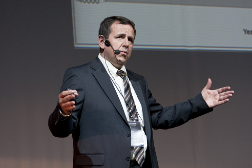 Detlev Reicheneder at Autodesk Forum in Moscow