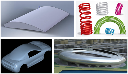 Cimplex NURBS surfaces