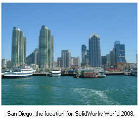 San-Diego, SolidWorks World 2008