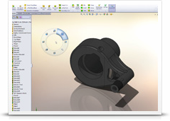 SolidWorks Heads-Up Interface